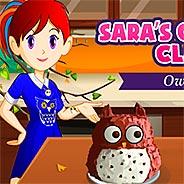 Игра Кухня Сары: торт сова - картинка