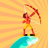 Игра Лучник-серфер