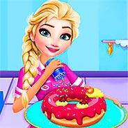 Игра Магазин пончиков Эльзы
