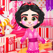 Игра Макияж принцессы Ванилоппы