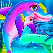 Игра Мой дельфин: лечим раны - картинка