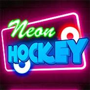 Игра Неоновый хоккей на двоих - картинка