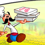 Игра Папа Луи и атака пиццы - картинка