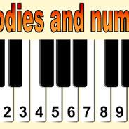 Игра Пианино с цифрами - картинка