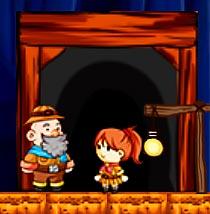 Игра Приключение шахтеров на двоих