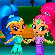 Игра Шиммер и Шайн: костюм на карнавал - картинка