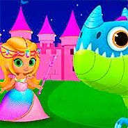 Игра Сказка о принцессе и драконе