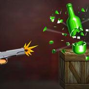 Игра Стрелялка с оружием: попади в бутылку