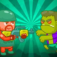 Игра Стрелялка с оружием: защита от зомби
