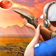 Игра Стрелять по тарелкам из ружья