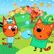 Игра Три кота и мыльные пузыри