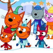 Игра Три кота и Новый Год
