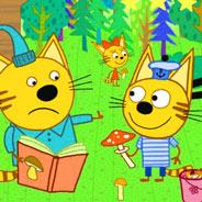Игра Три кота: ищем грибы