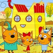 Игра Три кота на детской площадке - картинка
