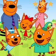 Игра Три кота на пикнике