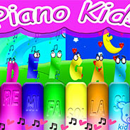 Игра Веселое пианино с нотами
