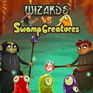 Игра Волшебники и болотные монстры