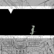 Игра Стикмен бегает по полу