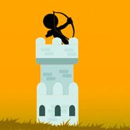 Игра Стикмен: замок лучника