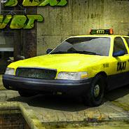 Игра Безумный таксист гонщик - картинка