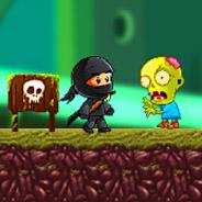 Игра Дети ниндзя: сражение с зомби