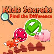 Игра Детские Тайны: Искать Отличия