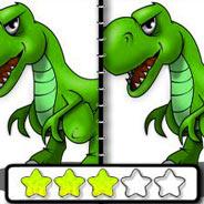 Игра Динозавр: Определи различия
