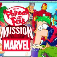 Игра Финес и Ферб: Миссия Марвел - картинка