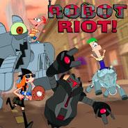 Игра Финес и Ферб: Робот Риот