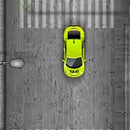 Игра Городская машина такси - картинка