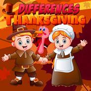 Игра Ищем Различия в День Благодарения