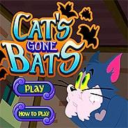 Игра Кот против летучих мышей