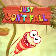 Игра Маленький червячок: не падай