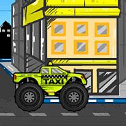 Игра Монстр трак: такси - картинка