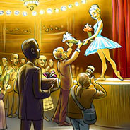 Игра Музыкальная шкатулка: поиск отличий - картинка