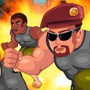 Игра Паркур: путь солдата
