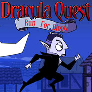 Игра Паркур с Дракулой на высоте