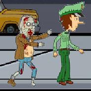 Игра Полиция против зомби - картинка