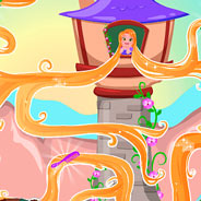 Игра Рапунцель: бродилка по замку - картинка