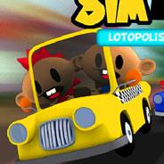 Игра SimTaxi в городе Лотополис - картинка