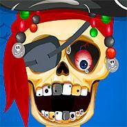 Игра Скелет лечит зубы - картинка
