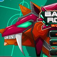 Игра Сражение роботов: стальной волк