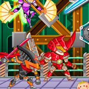 Игра Сражение стальных ниндзя - картинка