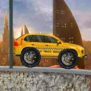 Игра Такси внедорожник - картинка