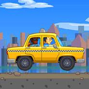 Игра Такси: высокая скорость - картинка