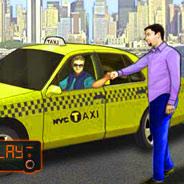 Игра Таксист водитель - картинка