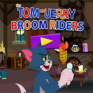 Игра Том и Джерри: наездники на метле
