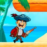 Игра Убегай от пирата - картинка