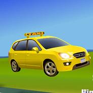 Игра Водитель быстрого такси - картинка