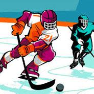 Игра Хоккей на двоих - картинка